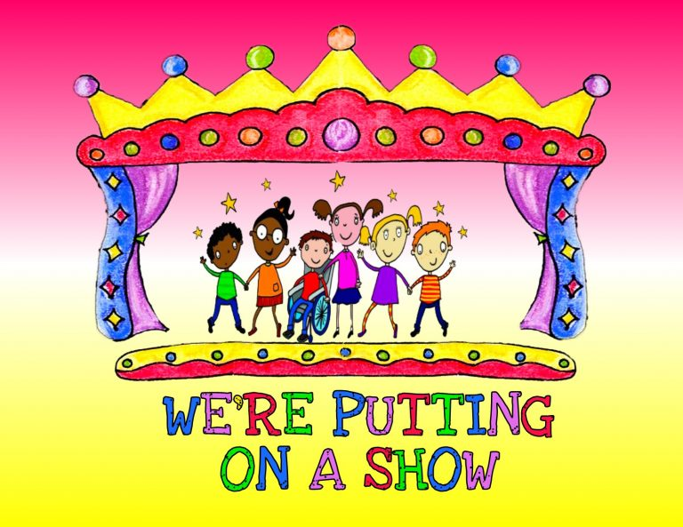 WERE PUTTING ON A SHOW logo